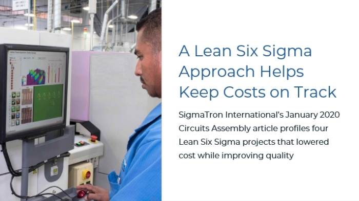 Circuits Assembly Lean Six Sigma