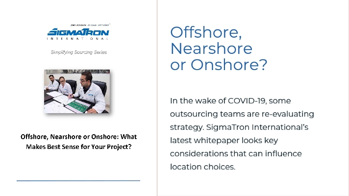 Offshore Nearshore or Onshore