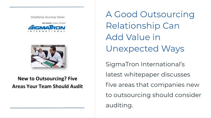 New to Outsourcing Five Audit Areas